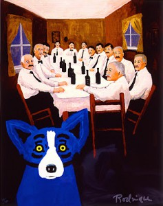Blue Dog Dinner